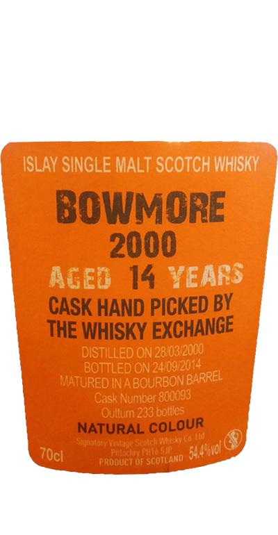 Bowmore 2000 SV