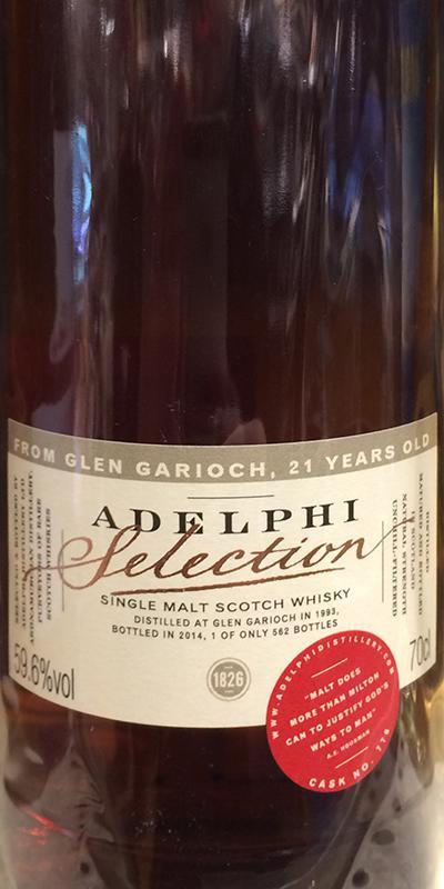 Glen Garioch 1993 AD