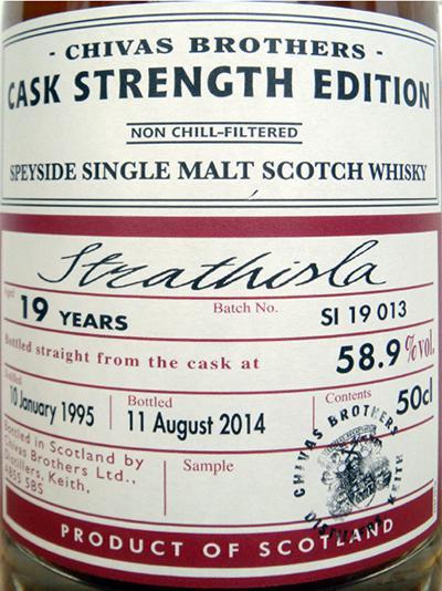 Strathisla 1995