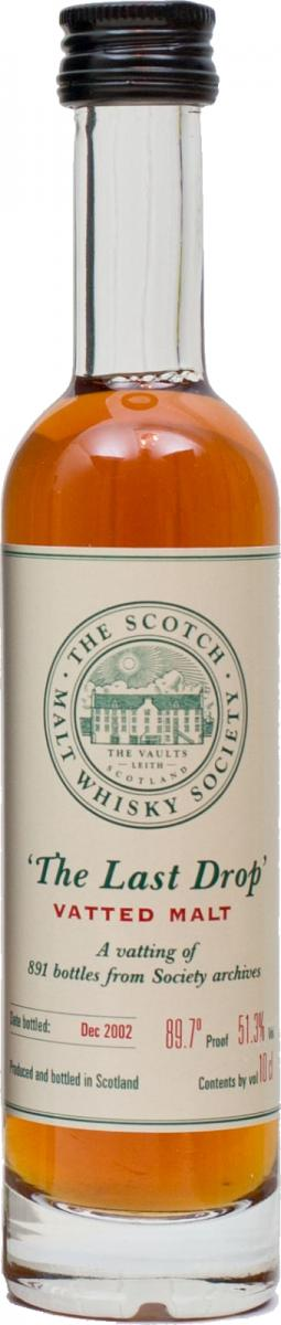The Last Drop Vatted Malt SMWS