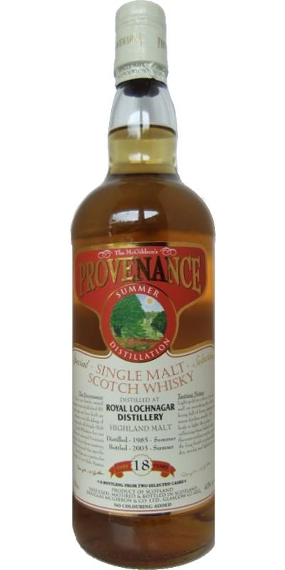 Royal Lochnagar 1985 McG