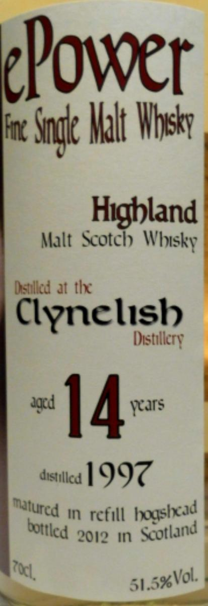 Clynelish 1997 eP