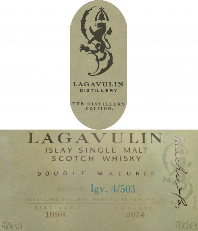 Lagavulin 1998