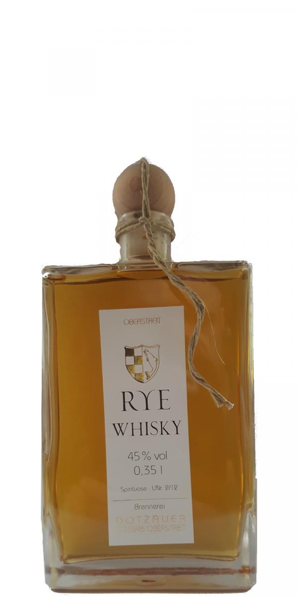 Weingut Dotzauer Rye Whisky