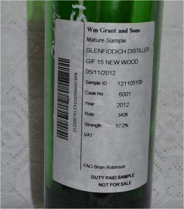 Glenfiddich Mature Sample