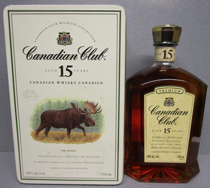 Canadian Club 15-year-old