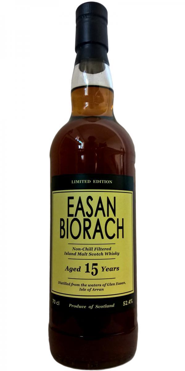 Arran 15-year-old Easan Biorach