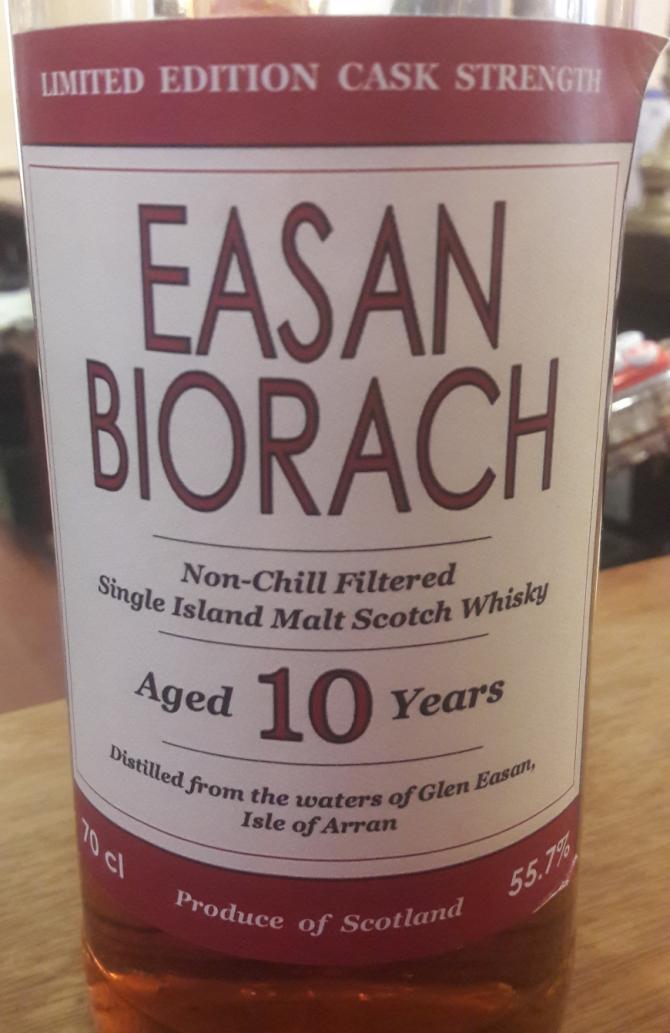 Arran 10-year-old Easan Biorach