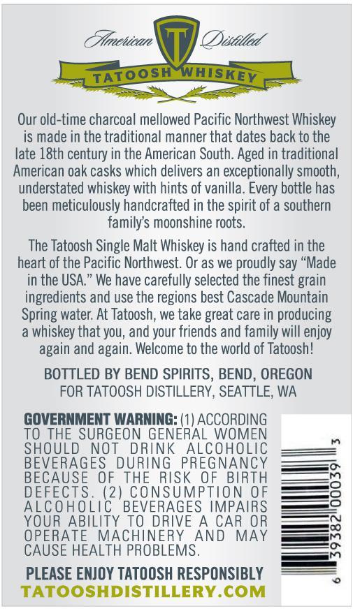 Tatoosh Whiskey