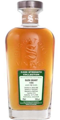 Glen Grant 1990 SV