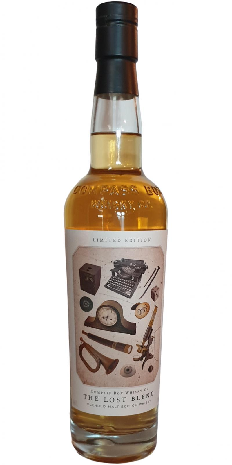 The Lost Blend Blended Malt Scotch Whisky CB