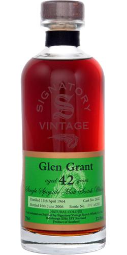 Glen Grant 1964 SV