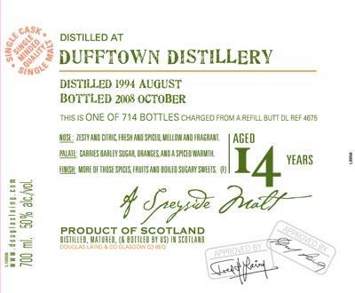 Dufftown 1994 DL
