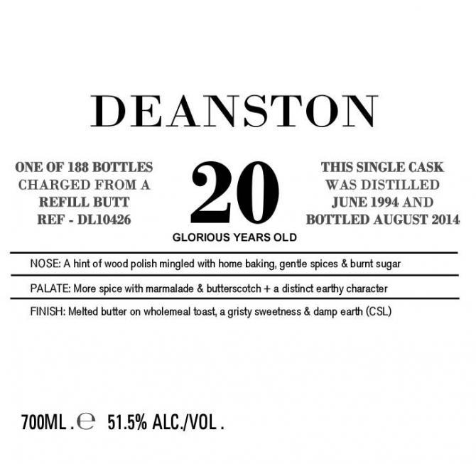 Deanston 1994 DL