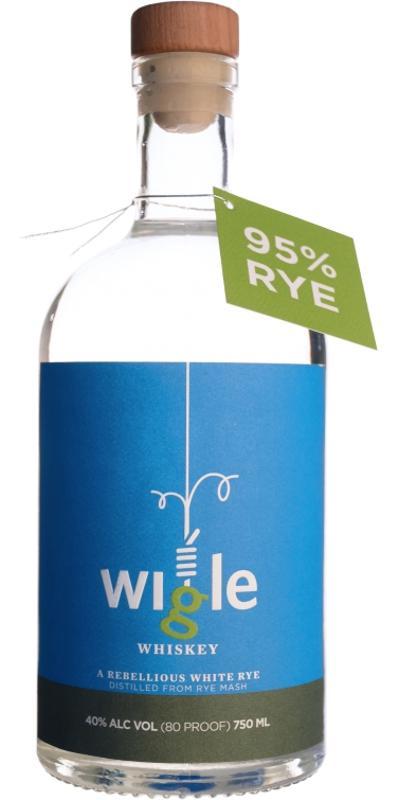 Wigle 95% Rye White Whiskey