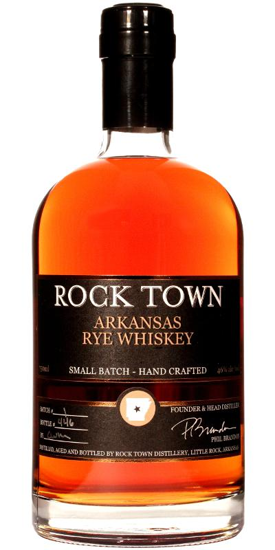 Rock Town Arkansas Rye Whiskey