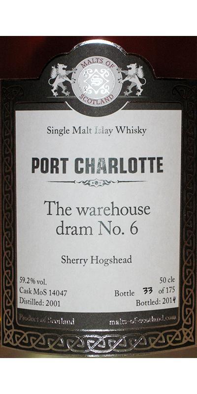 Port Charlotte 2001 MoS