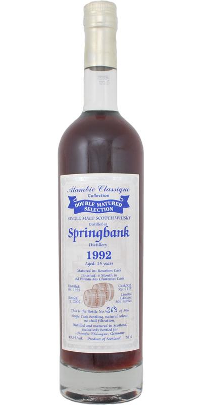 Springbank 1992 AC
