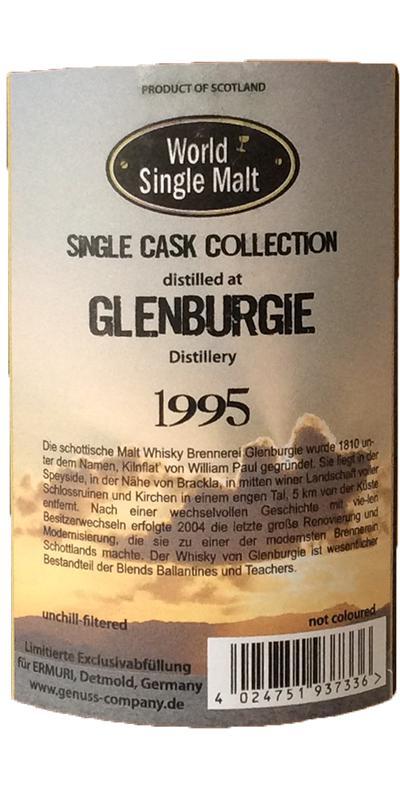 Glenburgie 1995 WSM