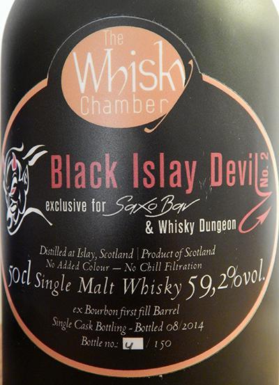 Black Islay Devil No. 2 WCh