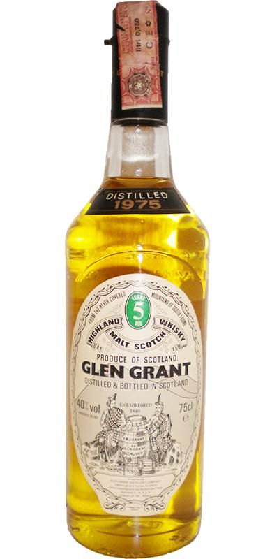 Glen Grant 1975