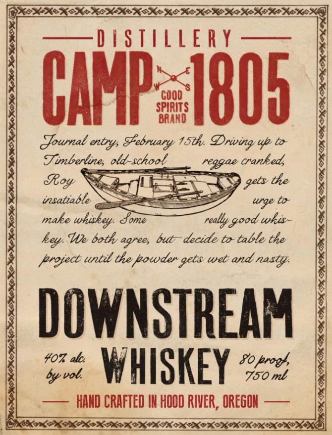 Camp 1805 Downstream Whiskey
