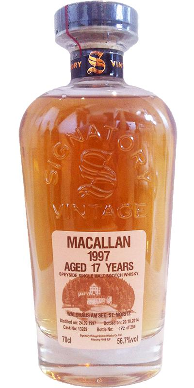 Macallan 1997 SV