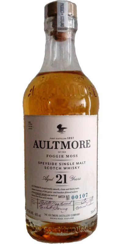 Aultmore 21-year-old