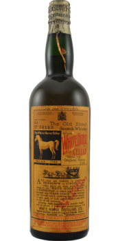 White Horse The Old Blend Scotch Whisky of the White Horse Cel