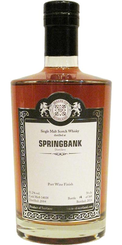 Springbank 2004 MoS