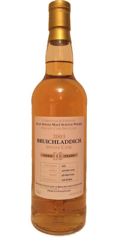 Bruichladdich 2003 IS&m