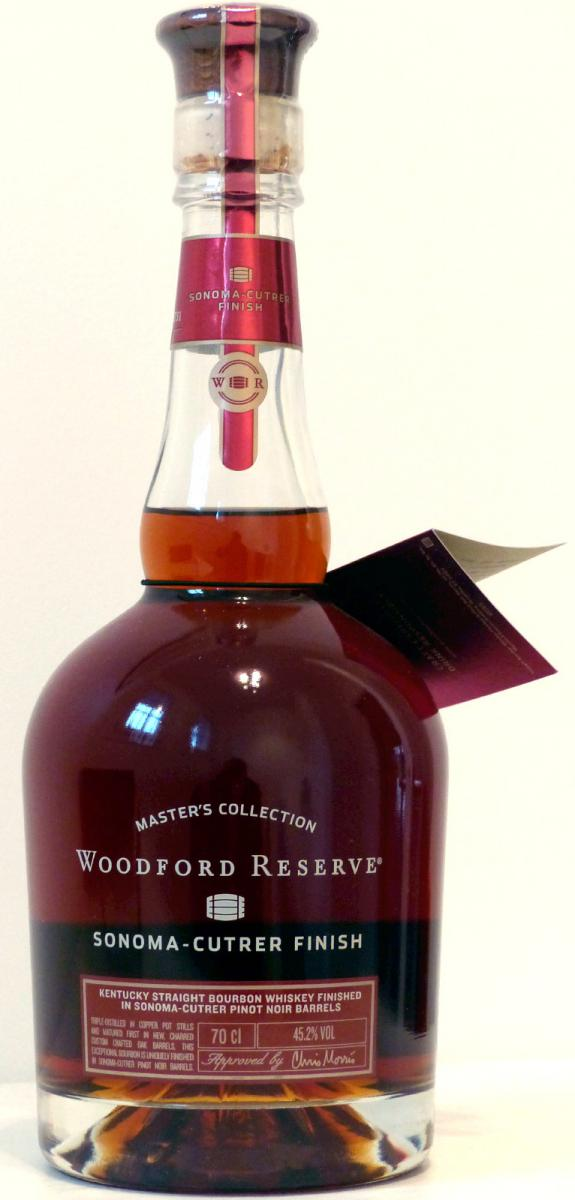 Woodford Reserve Sonoma-Cutrer Finish