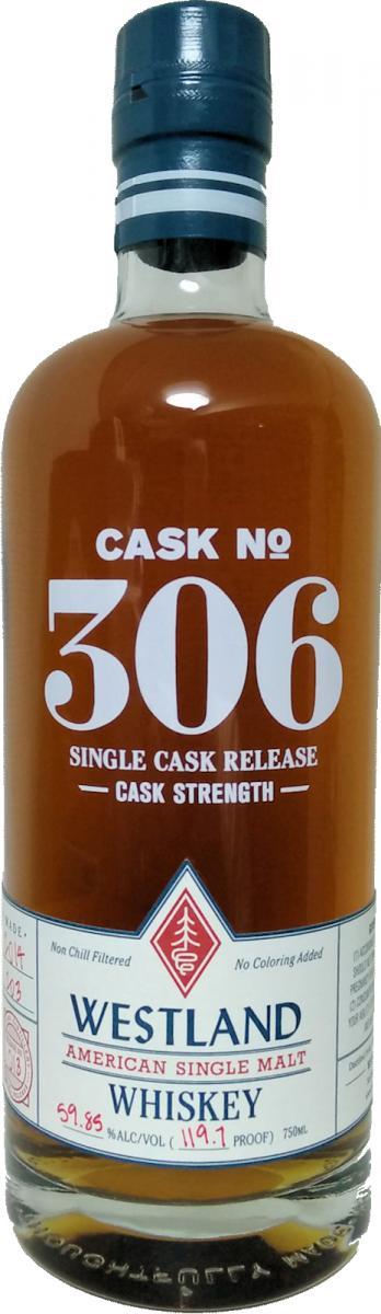 Westland Cask No. 306