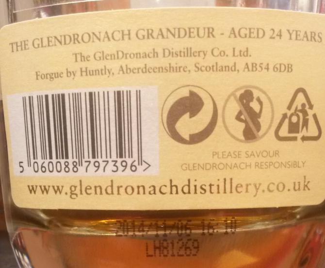Glendronach 24-year-old