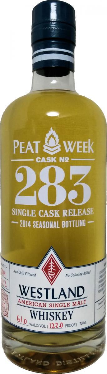 Westland Cask No. 283