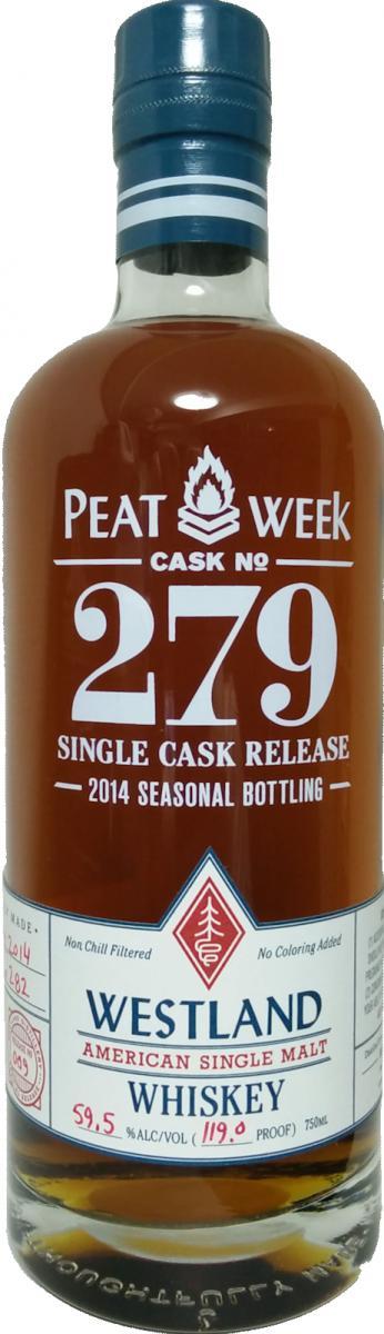 Westland Cask No. 279