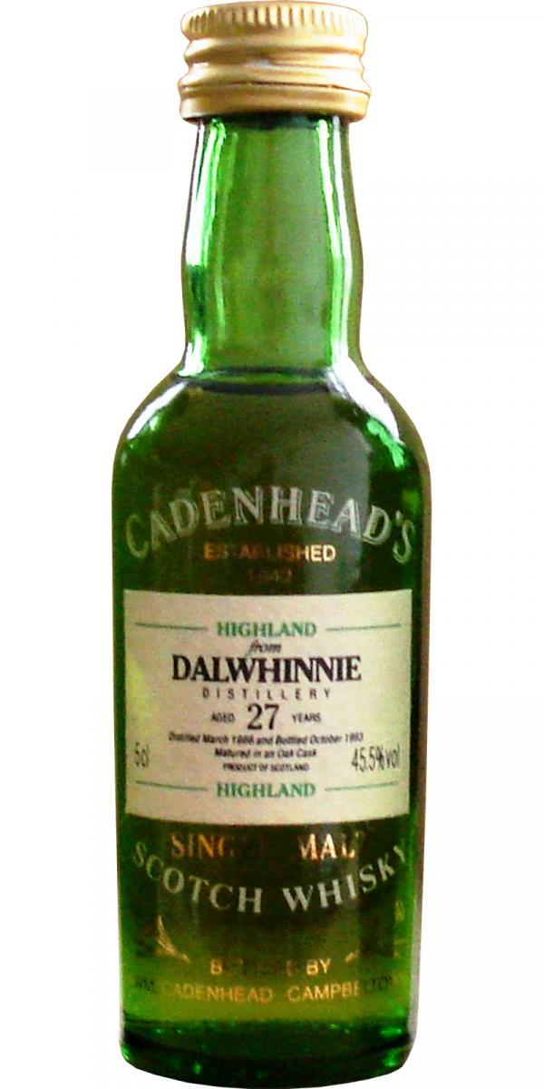 Dalwhinnie 1966 CA