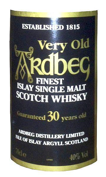 Ardbeg 30-year-old