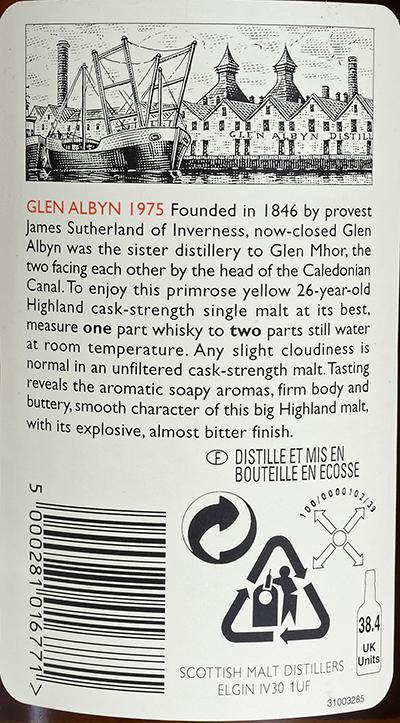 Glen Albyn 1975