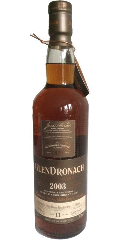 Glendronach 2003