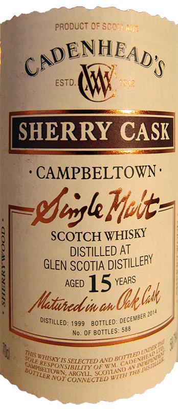 Glen Scotia 1999 CA