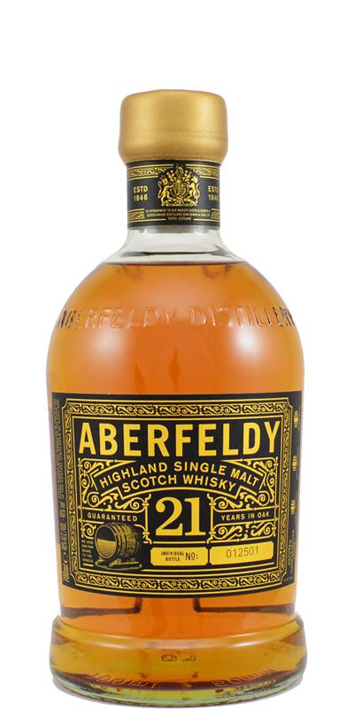 Aberfeldy 21-year-old