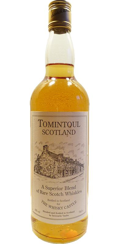 Tomintoul Scotland A Superior Blend of Rare Scotch Whiskies