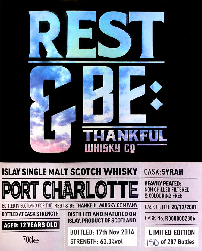 Port Charlotte 2001 RBTW
