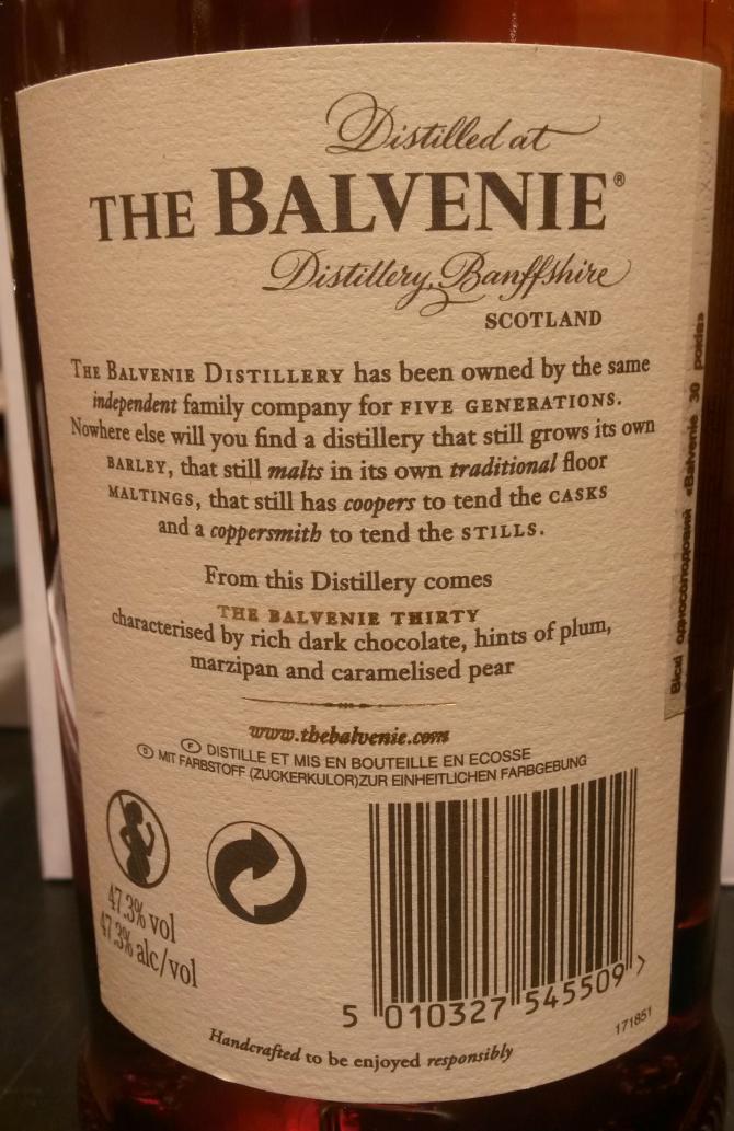 Balvenie 30-year-old
