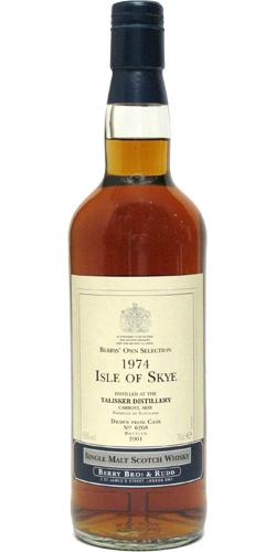 Talisker 1974 Isle of Skye BR