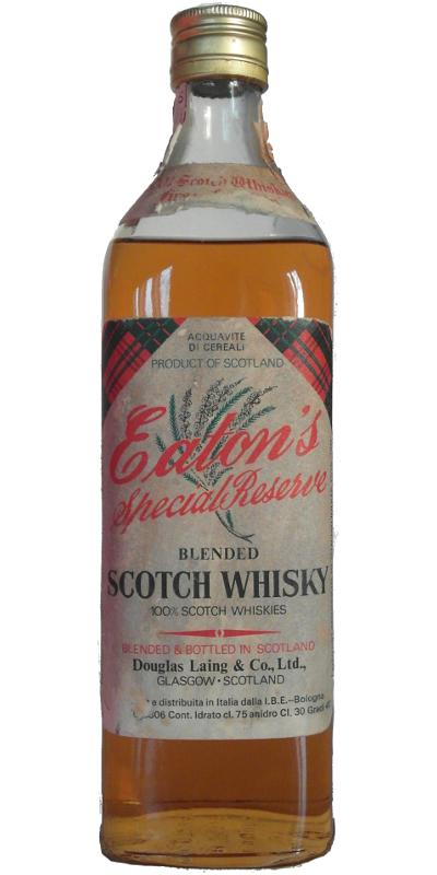Eaton's Special Reserve DL