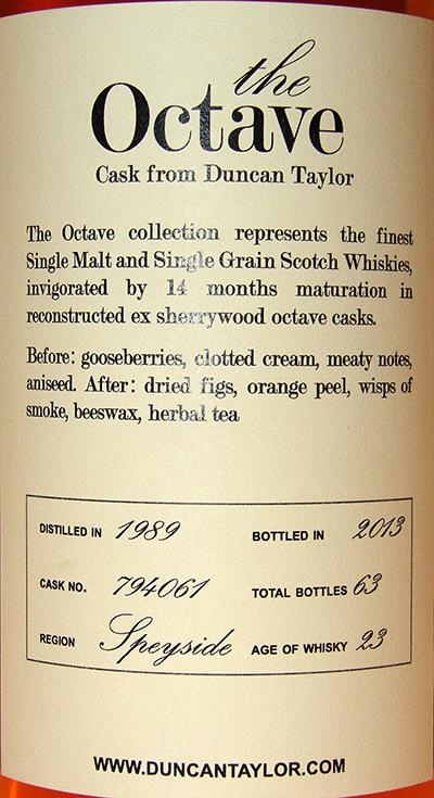 Mortlach 1989 DT