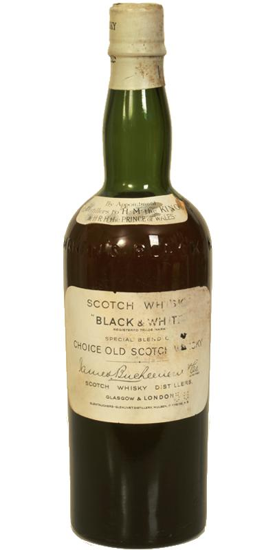 Black & White Special Blend of Choice Old Scotch Whisky