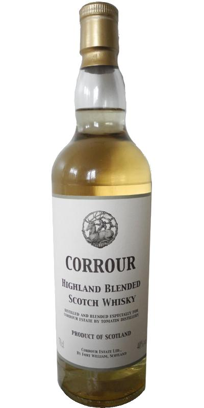 Corrour Highland Blended Scotch Whisky